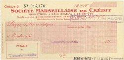 Francs FRANCE régionalisme et divers Casablanca 1943 DOC.Chèque SUP