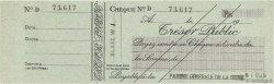 Francs FRANCE régionalisme et divers PARIS 1943 DOC.Chèque SUP