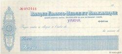 Leva FRANCE régionalisme et divers SOFIA (BULGARIE) 1929 DOC.Chèque SPL