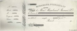 Francs FRANCE régionalisme et divers PARIS 1900 DOC.Reçu TTB