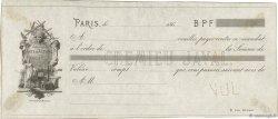 Francs FRANCE régionalisme et divers PARIS 1864 DOC.Mandat SUP