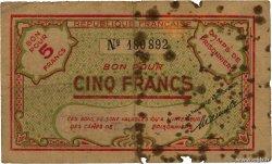 5 Francs ALGÉRIE  1943 K.394 B