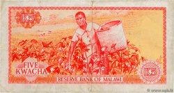 5 Kwacha MALAWI  1973 P.11a TB+