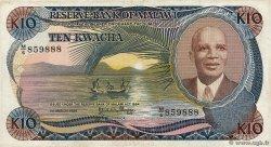 10 Kwacha MALAWI  1986 P.21a TTB