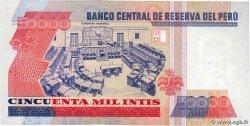 50000 Intis PÉROU  1988 P.143 pr.NEUF