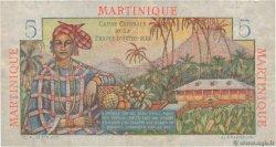 5 Francs Bougainville MARTINIQUE  1946 P.27a TTB