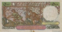 500 Francs ALGÉRIE  1951 P.106a TTB