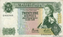 25 Rupees ÎLE MAURICE  1967 P.32b TB+
