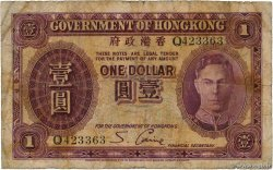 1 Dollar HONG KONG  1936 P.312 B