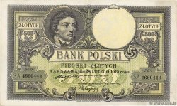 500 Zlotych  POLOGNE  1924 P.058 SUP