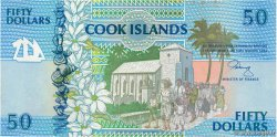 50 Dollars  ÎLES COOK   1992 P.10a NEUF