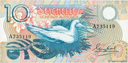 10 Rupees  SEYCHELLES  1979 P.23a NEUF