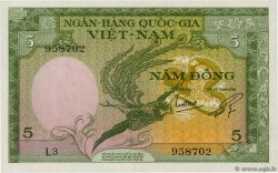 5 Dong  SOUTH VIETNAM  1955 P.002a UNC
