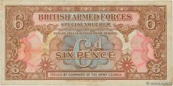 6 Pence ANGLETERRE  1946 P.M010a TB+