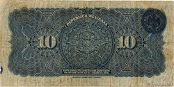10 Pesos  MEXICO  1915 PS.0686a F