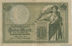 10 Mark  ALLEMAGNE  1906 P.009b TB