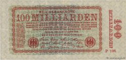 100 Milliarden Mark  ALLEMAGNE  1923 P.133 TTB
