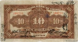 10 Dollars  CHINE  1920 PS.1265c TB