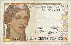 300 Francs FRANCE  1939 F.29.03 TTB
