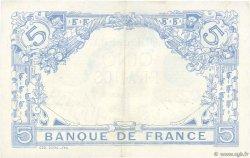 5 Francs BLEU FRANCE  1915 F.02.31 SUP+