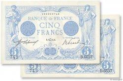 5 Francs BLEU FRANCE  1915 F.02.29 SUP+