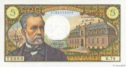 5 Francs PASTEUR FRANCE  1968 F.61.07 SPL