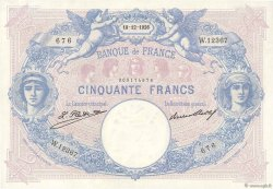 50 Francs BLEU ET ROSE FRANCE  1926 F.14.39 SUP+