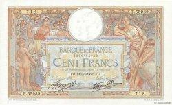 100 Francs LUC OLIVIER MERSON type modifié FRANCE  1937 F.25.03 SUP à SPL