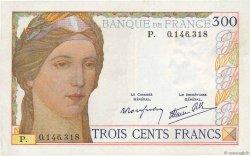 300 Francs FRANCE  1939 F.29.03 SUP
