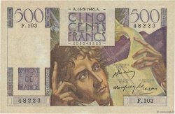500 Francs CHATEAUBRIAND FRANCE  1948 F.34.08 pr.SUP