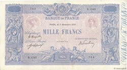 1000 Francs BLEU ET ROSE  FRANCE  1919 F.36.34 TTB