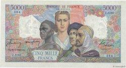 5000 Francs EMPIRE FRANÇAIS FRANCE  1947 F.47.59 SUP+