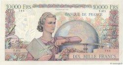 10000 Francs GÉNIE FRANÇAIS FRANCE  1946 F.50.16 TTB