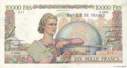 10000 Francs GÉNIE FRANÇAIS FRANCE  1950 F.50.43 SUP+