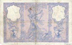 100 Francs BLEU ET ROSE FRANCE  1909 F.21.24 pr.B