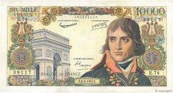 10000 Francs BONAPARTE FRANCE  1957 F.51.08 TTB+