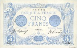 5 Francs BLEU FRANCE  1915 F.02.32 SUP