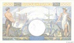 1000 Francs COMMERCE ET INDUSTRIE FRANCE  1940 F.39.02 NEUF