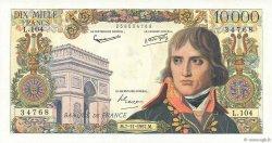 10000 Francs BONAPARTE FRANCE  1957 F.51.10 SPL