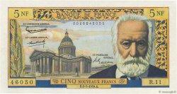 5 Nouveaux Francs VICTOR HUGO FRANCE  1959 F.56.02 AU