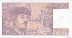 20 Francs DEBUSSY FRANCE  1989 F.66.10a pr.NEUF