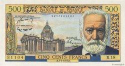 500 Francs VICTOR HUGO FRANCE  1954 F.35.02 pr.SPL