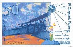 50 Francs SAINT-EXUPÉRY modifié FRANCE  1994 F.73.01c SUP+