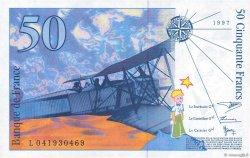 50 Francs SAINT-EXUPÉRY sans STRAP FRANCE  1997 F.72qua.04 SUP