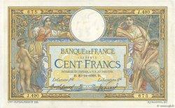 100 Francs LUC OLIVIER MERSON avec LOM FRANCE  1908 F.22.01 TTB
