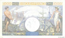 1000 Francs COMMERCE ET INDUSTRIE FRANCE  1940 F.39.02 NEUF