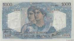 1000 Francs MINERVE ET HERCULE FRANCE  1946 F.41.12