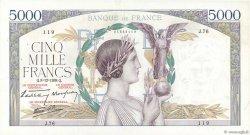 5000 Francs VICTOIRE Impression à plat FRANCE  1938 F.46.01 TTB+