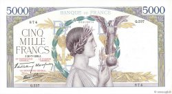 5000 Francs VICTOIRE Impression à plat FRANCE  1939 F.46.08 SPL