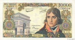 10000 Francs BONAPARTE FRANCE  1958 F.51.11 SUP